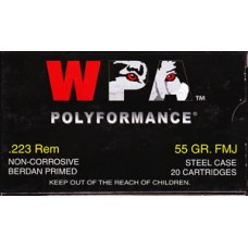 223 WOLF 55 grain FMJ